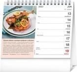 PGS-30222-SK - Stolový kalendár Slovenská kuchyňa 2022, 16,5 × 13 cm