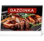 PGS-30223-SK - Stolový kalendár Gazdinka 2022, 23,1 × 14,5 cm