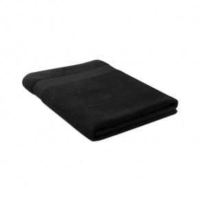 Uterák, prírodná bavlna 180x100, Black